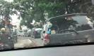 Lalu lintas tampak di Jalan Karang Setra-Setiabudhi menuju Lembang, Bandung Barat, Jumat (1/1/2016) (Fathan/Jabartoday.com(