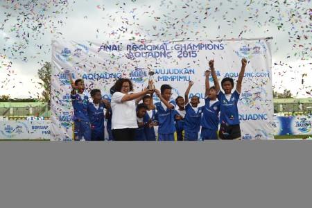 Bandung Legend Hijau meraih Juara 1