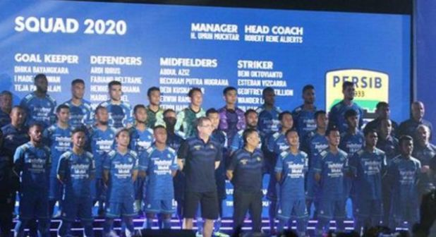 Skuat Persib Bandung 2020
