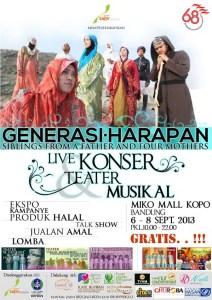 Poster Konser dan Ekspo Global Ikhwan