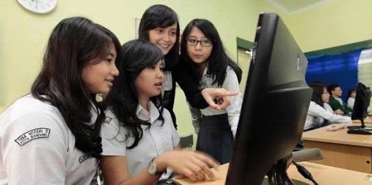 Siswi SMA Bandung