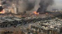 Ledakan Beirut Libanon