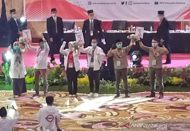 Nomor Urut Pilkada Bandung 2020