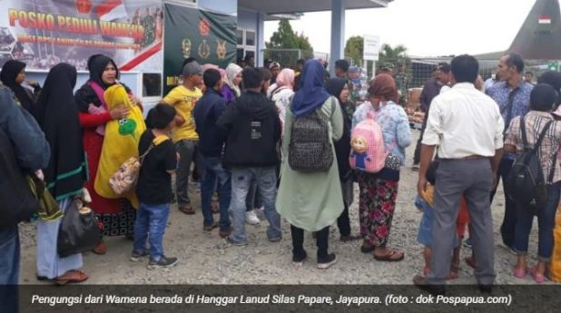 Pengungsi Jabar Wamena Papua