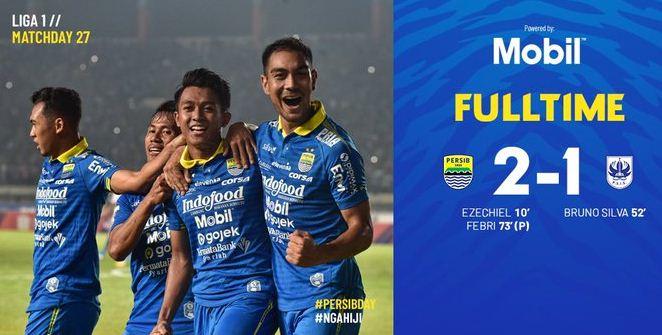 Persib Bandung vs PSIS Semarang 2-1