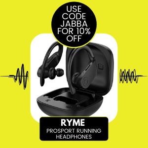 RYME Earphones Headphones Sport 10% Off Money off