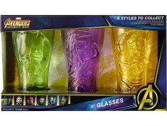 Marvel Infinity Stone Glasses - The Hulk, Thor and Groot Review