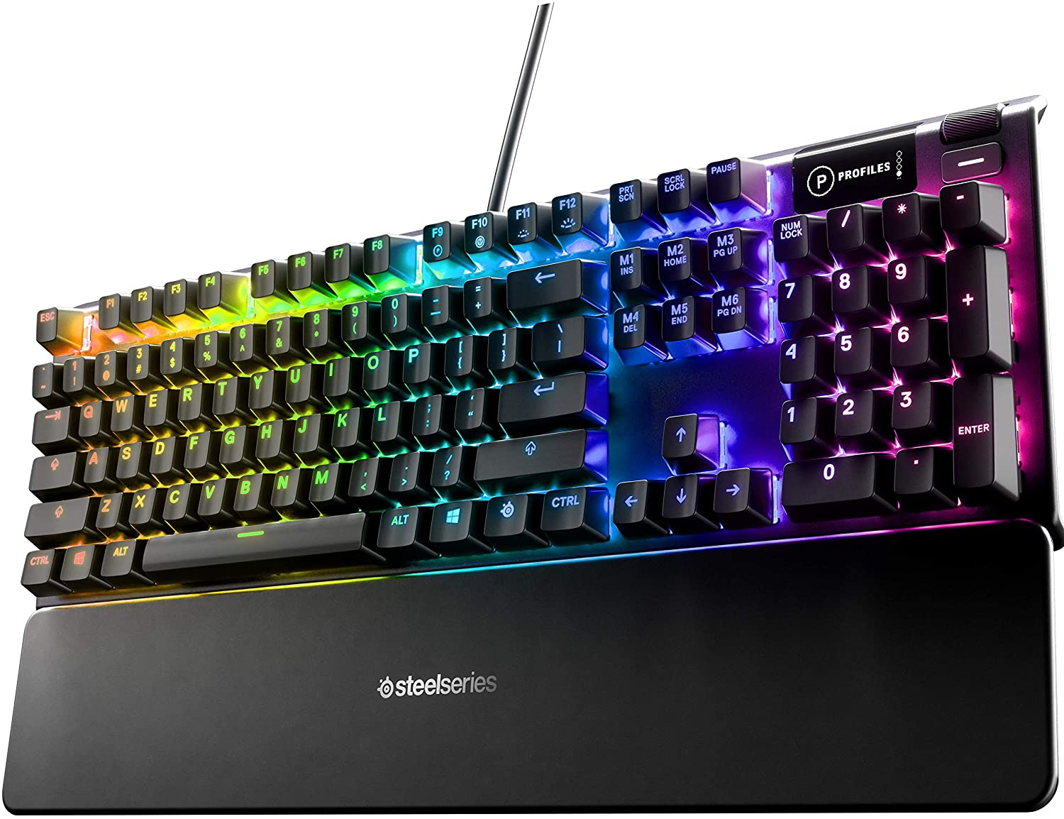 SteelSeries APEX 5 Hybrid Mechanical Gaming Keyboard Review