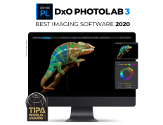 DxO PhotoLab 3 wins the 2020 TIPA Award for Best Imaging Software