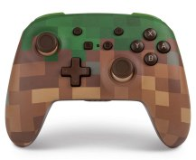 PowerA Enhanced Wireless Controller for Nintendo Switch Minecraft Grass Block Review