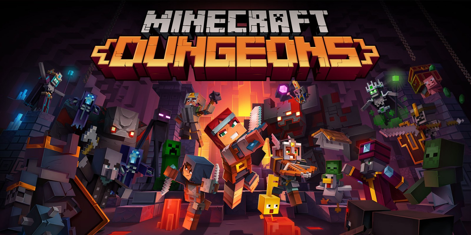 Minecraft Dungeons Nintendo Switch Review