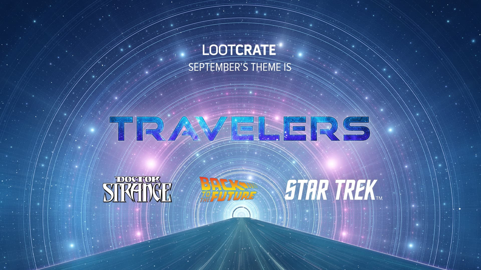 Celebrate Pop Culture Travelers with the September Loot Crate!