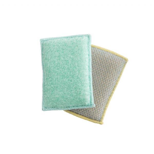 Lynsey Queen of Clean Bamboo Scrub & Wipe Sponge