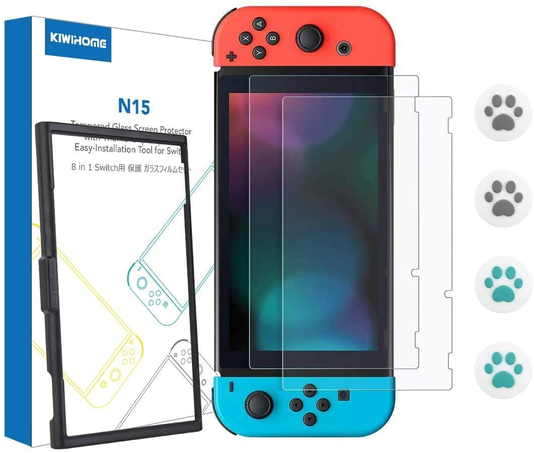 KIWIHOME Switch Screen Protector for Nintendo Switch Review