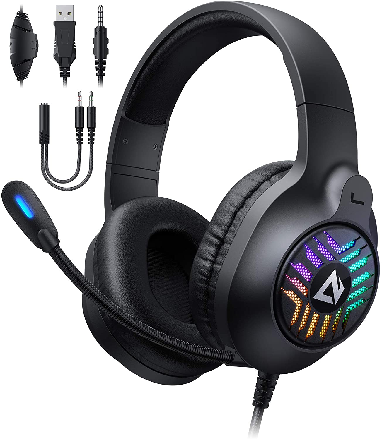AUKEY RGB Gaming Headset Review