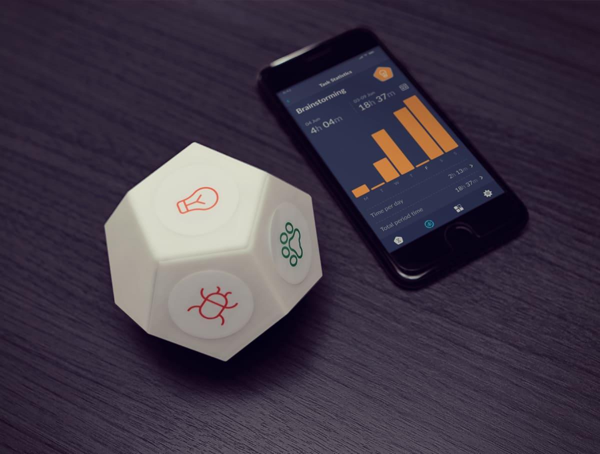 TIMEFLIP2 Human-Friendly Time Tracker Review