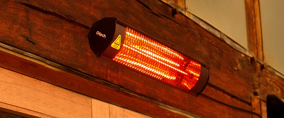 The heat is on with The Gtech HeatWave Patio Heater Review