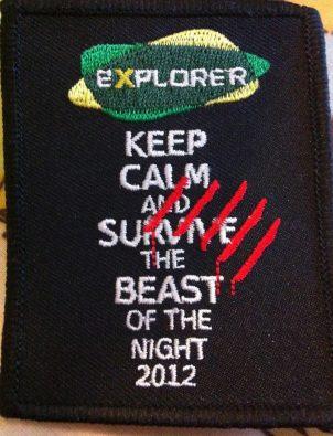 Beast of the Night Badge