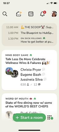 como iniciar o uso do clubhouse app