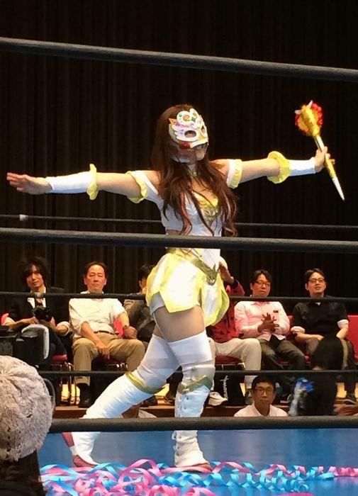 Typical female wrestler in Japan Otaku's obsess over