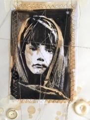 Terry Kobus, refugee girl