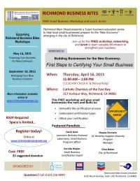 business bites 4.16.2015--flyer (richmond main street)