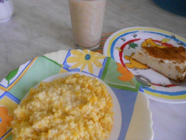питательный завтрак для малыша 1