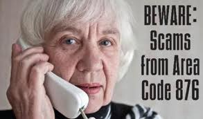 Scammers target old people