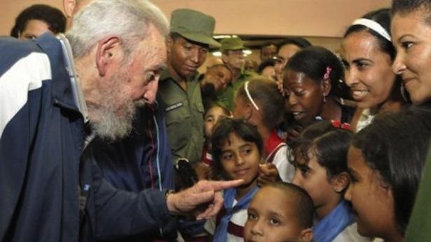 Fidel Castro two hour speech