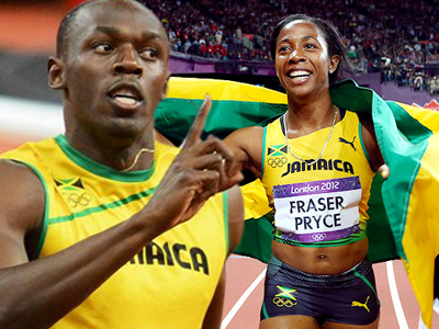 Usain Bolt athlete of the year, Shelly Ann Fraser athlete of the year