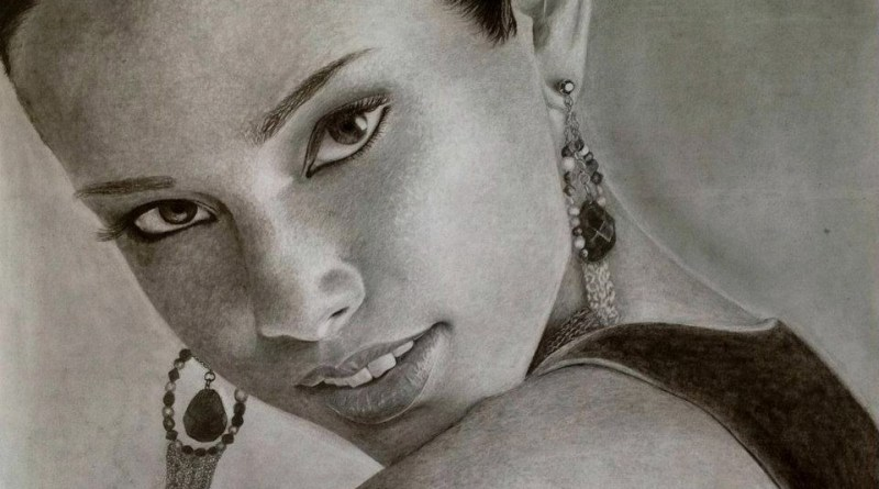 Most beautiful picture of Alicia Keys drawing