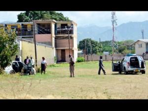 Rohan Newman killed by gunmen 7 children Tarrant Primary School St. Andrew