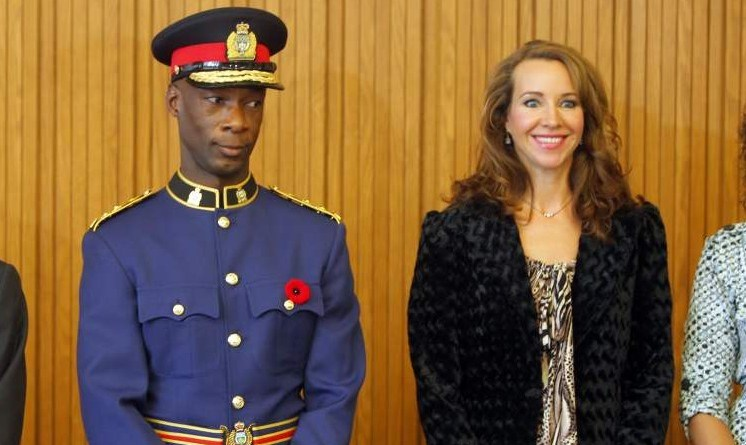Devon Clunis Canada's first black police chief Jamaican immigrant
