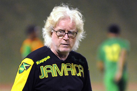 Winfried Schaefer Jamaica vs France Switzerland