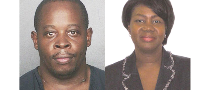 Charged murder 38-year-old Alrick Oral Brown Dacota Stewart-Dick, 53