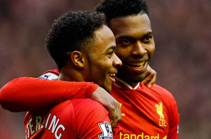 Raheem Sterling and Daniel Sturridge Jamaican connection