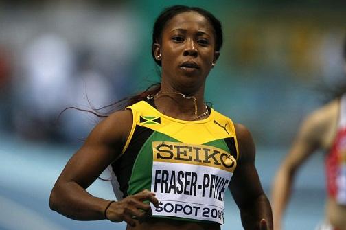 Shelly Ann Fraser 60m gold Sopot