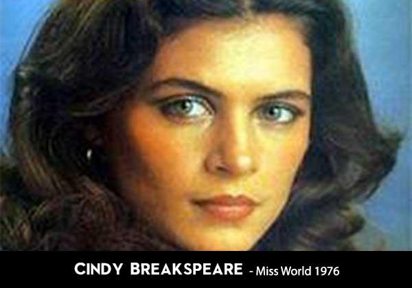 Cindy Breakspeare wife of Bob Marley was a Miss World winner 1976 Jamaica