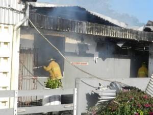 gunmen set light school on fire ablaze Tacky High St Mary jamaica