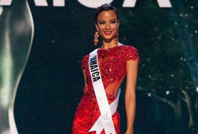Kaci Fennell ay 63rd annual Miss Universe - Image Source: angelopedia.com