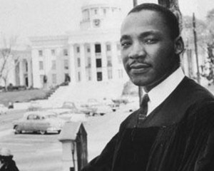 """""""America is a great nation but... that 'but' is a commentary on 200 and more years of chattel slavery and on 20 million Negro men and women deprived of life, liberty and the pursuit of happiness."""" Martin Luther King, Jr. - Image Source: abcnews.go.com"""