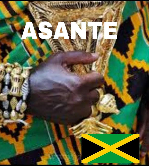 has a striking resemblance to the kente pattern and mframadan adinkra which uses asante national colours' That adinkra symbol is the pattern on his kente cloth that looks like jamaica's flag.