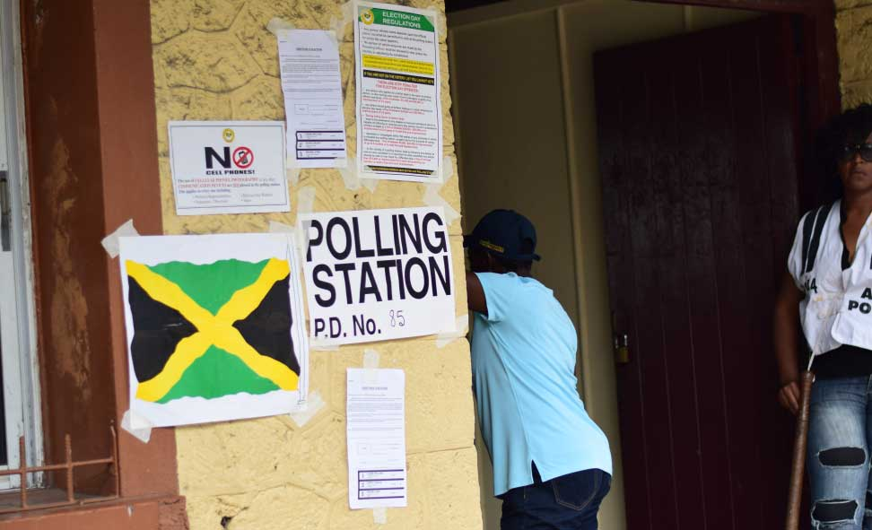 Image result for Political Participation in Jamaica and voting and democracy