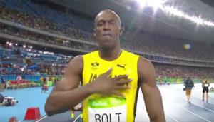Usain Bolt via Youtube