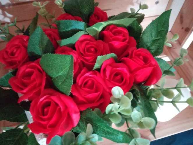 Ramo rosas jabón 18,95€