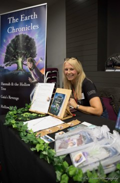 At the Leeds Author Event