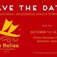International Indigenous Health Symposium