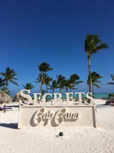 """unser Hotel """"Secrets Cap Cana"""""""