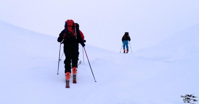 Alcanzando el Col des Moines