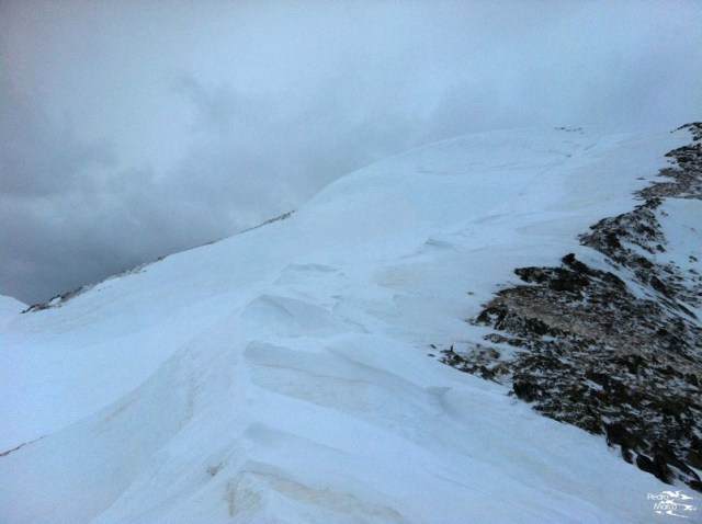 Cresta de subida hacia el Blonseiche